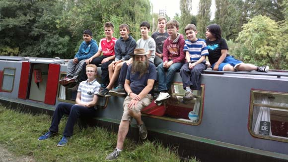 7th Camberley Canal Boat Trip